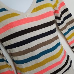 Poof Colorful Striped Sweater - 2/$25